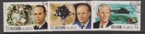 Ras al Khaima 1972 Airmails Moon Landing