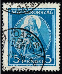 HUNGARY STAMP 1932 Madonna and Child 5P BLUE USED