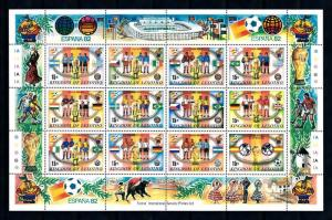 [60852] Lesotho 1982 World Cup Soccer Football Spain MNH
