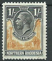 Northern Rhodesia  SG 10 Mint Hinged