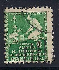 Cuba Sc. #RA1 Tax for Tuberculosis Fund Used L3
