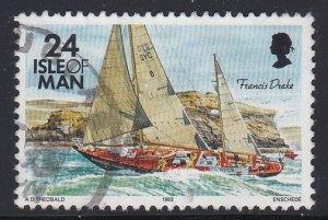 Isle of Man #547 F-VF Used Francis Drake