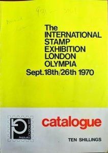 Catalogue - Philympia International Stamp Exhibition London Olympia 1970