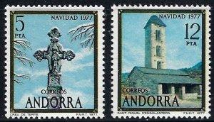 Andorra Spanish 100-01 MH  BIN $1.55 (2)