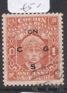 India Cochin SG O56 VFU (2dlm)