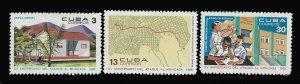CUBA 1343-1345 MNH