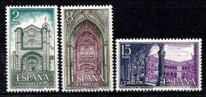 Spain 1972 SC. 1738-1740 MNH (1220)