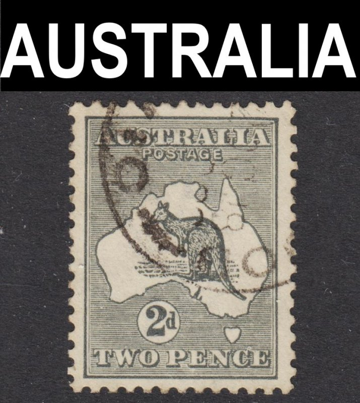 Australia Scott 45 wtmk 10 VF to XF used.
