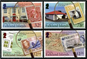 2020 Falkland IS Philatelic Study Group (4) (Scott NA) MNH