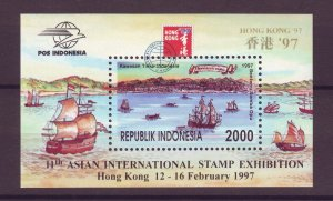 J25085 JLstamps 1996-7 indonesia s/s mnh #1685a ships