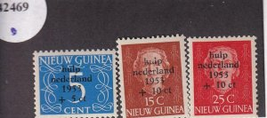 Netherlands New Guinea:  Sc B1-B3, MNH (42469)