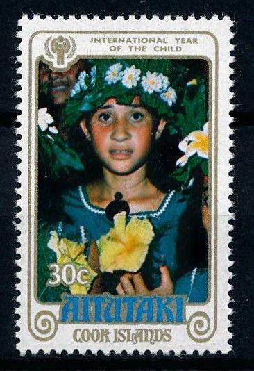 [61969] Cook Islands Aitutaki 1979 Flora Flowers Blumen Fleur From Set MNH