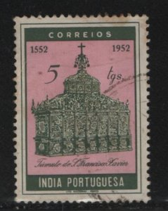 PORUGUESE INDIA, 516, USED, 1951, HOLY YEAR ISSUE