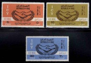 IRAQ Scott C9-C11 MNH** Airmail stamp set