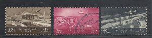 Egypt #C98-100 comp used cv $1.70