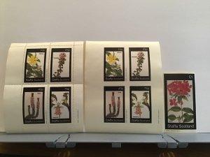 Staffa Scotland plant flowers Phlox Dillenia MNH stamps  R25313