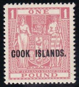Cook Islands 1936 SC 106 MLH