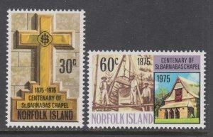 Norfolk Island 190-191 MNH VF