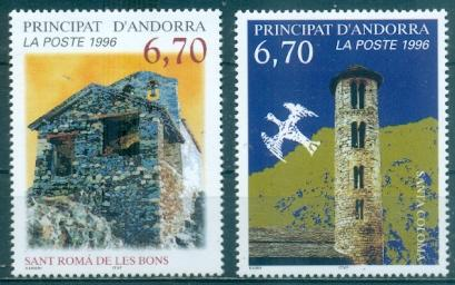 Andorra - French #474-475  MNH  Scott $5.50