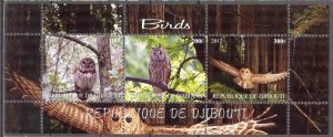 Djibouti 2012 Birds (1) MNH Cinderella !