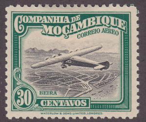 Mozambique Company C5 Airplane Over Beira 1935