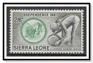 Sierra Leone #217 Diamond Miner MH
