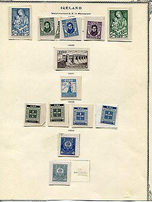 Ireland Mint  Collection 1929/1945 VF    Lakeshore Philat...