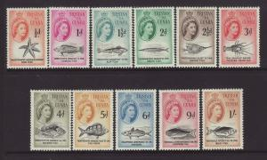 1960 Tristan da Cunha Set to 1/- Mounted Mint SG28/38