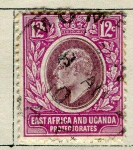BRITISH KUT; 1907 early Ed VII issue fine used 12c. value