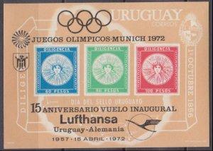 1972 Uruguay B15b 1972 Olympic Games in Munchen 35,00 €
