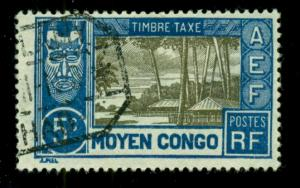 Middle Congo 1930 #J12 U SCV(2018)=$1.40