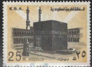Saudi Arabia Scott 695 Used Holy Ka'aba stamp