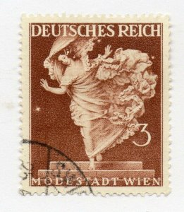 Germany 1943 Early Issue Fine Used 3pf. NW-100728