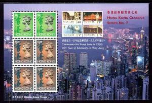 Hong Kong 651Bm Souvenir Sheet MNH VF
