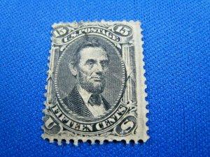 UNITED STATES, 1866 SCOTT #98 -  USED