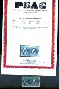 U.S. #496 USED L/P PSE CERT XF-SUPERB