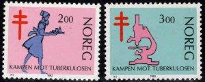 Norway Scott 802-803 MNH** TB set
