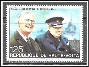 Upper Volta #349 Winston Churchill Issue CTO