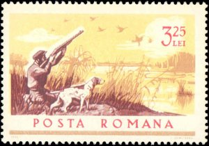 Romania #1807-1814, Complete Set(8), 1965, Dogs, Never Hinged