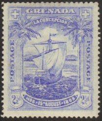Grenada #47 MH ship