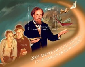 MOZAMBIQUE 2012 SHEET CHARLES DICKENS