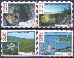 Cuba. 2016. Snails birds fauna flora tourism. MNH.