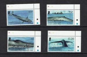 South Georgia: 2012, Blue Whale,  MNH set