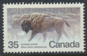 Canada  SG 1007  Used   Bison   Wildlife    SC# 884   see scan
