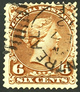 CANADA #27a USED
