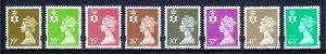 Great Britain (Northern Ireland) - Scott #NIMH57-NIMH64 - MNH - SCV $17