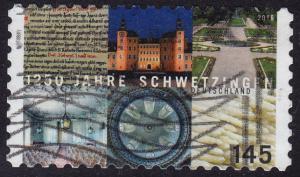 Germany - 2016 - Scott #2894 - used - Schwetzingen 1250th Anniv.
