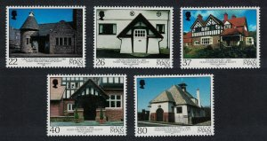 Isle of Man The Architecture of Mackay Hugh Scott 5v SG#953-957