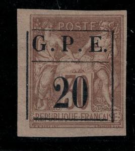 Guadeloupe 1884 SC 1 Mint SCV $73.00
