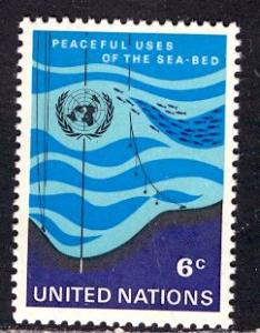 United Nations NY; 1971; Sc. # 215; **/MNH Cpl. Set